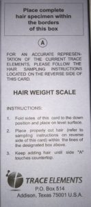 Hair Weight Scale